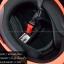 หมวกกันน็อค INDEX รุ่น Legenda i-shield สี BLACK-FROS/ORANGE thumbnail 6
