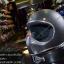 หมวกกันน็อคคลาสสิก MOTO3 สีบลอนด์เทาด้าน thumbnail 2