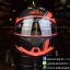 หมวกกันน็อค INDEX รุ่น Legenda i-shield สี BLACK-FROS/ORANGE thumbnail 1