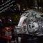หมวกกันน็อคMT Revenge Skull & Roses - Matt Grey / Black thumbnail 3