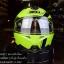หมวกกันน็อค INDEX รุ่น Legenda i-shield สี NEON GREEN-BLACK thumbnail 1