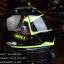 หมวกกันน็อค INDEX รุ่น Legenda i-shield สี BLACK-GREEN thumbnail 4