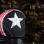 หมวกกันน็อคคลาสสิก 5เป๊ก (มีแว่น) สี Star Dust ดำด้าน thumbnail 3
