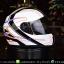 หมวกกันน็อคRider รุ่น Vision X สี Fast White thumbnail 3