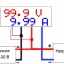 DC 100V 10A Voltmeter Ammeter Blue + Red LED Amp Dual Digital Volt Meter thumbnail 9