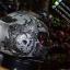 หมวกกันน็อคMT Revenge Skull & Roses - Matt Grey / Black thumbnail 4