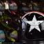 หมวกกันน็อคคลาสสิก 5เป๊ก (มีแว่น) สี Star Dust ดำ thumbnail 4