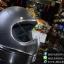 หมวกกันน็อคคลาสสิก MOTO3 สีบลอนด์เทาด้าน thumbnail 3