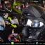 หมวกกันน็อคReal รุ่นCosmo สีดำด้าน thumbnail 7