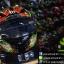หมวกกันน็อคMT Revenge Skull & Roses - Gloss Black / Red thumbnail 6