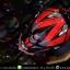 หมวกกันน็อคReal วิบาก รุ่น Rockdale Crew สี Black Red Fluo thumbnail 11