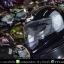 หมวกกันน็อคReal รุ่น Tornado สีดำเงา thumbnail 9