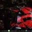 หมวกกันน็อคReal วิบาก รุ่น Rockdale Crew สี Black Red Fluo thumbnail 6