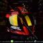 หมวกกันน็อคReal รุ่นHornet-Virago สีดำแดง thumbnail 7