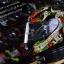 หมวกกันน็อคMT Revenge Skull & Roses - Gloss Black / Red thumbnail 1