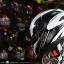 หมวกกันน็อคRider รุ่น Vision X สี Dot White Black thumbnail 3