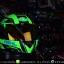 หมวกกันน็อคReal รุ่นHornet-Virago สีเขียวด้าน thumbnail 7