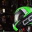 หมวกกันน็อคReal รุ่นCosmo R สีเขียว thumbnail 5