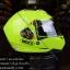 หมวกกันน็อค INDEX รุ่น Legenda i-shield สี NEON GREEN-BLACK thumbnail 4