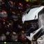 หมวกกันน็อคRider รุ่น Vision X สี Dot White Black thumbnail 1