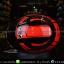 หมวกกันน็อคReal รุ่นHornet-Virago สีดำแดง thumbnail 8
