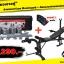 เซ็ตม้านอนยกน้ำหนัก รุ่นมัลติฟังก์ชั่น Bewinged (งานนำเข้า) + ดัมเบลบาร์เบล 50 kg(กล่อง) thumbnail 1