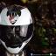หมวกกันน็อคRider รุ่น Vision X สี Dot White Black thumbnail 2