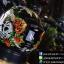 หมวกกันน็อคMT Revenge Skull & Roses - Gloss Black / Red thumbnail 3