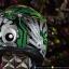 หมวกกันน็อคBilmola รุ่น Blackhole Green thumbnail 6