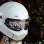 หมวกกันน็อคคลาสสิกCrg-Atv1 สีขาว thumbnail 2