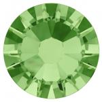 เพชรสวารอฟสกี้แท้ ซองเล็ก สีเขียว Peridot รหัส 214 คลิกเลือกขนาด ดูราคา ด้านใน