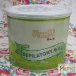 แว็กซ์เย็น กระป๋อง Hony Cold Wax เป็นStrip wax (แว๊กซ์แแบใช้ผ้าดึง)