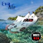 รองเท้าลุยน้ำ แห้งไว EVA Air สีขาว/แดง