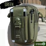 ร้อยเข็มขัดกันน้ำ Cordura Bag (สีเขียว)