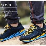 รองเท้าผ้าใบหนังแท้ ยี่ห้อ Merrto รุ่น 8619 สีกรมท่า