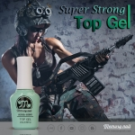 Top coat gel Memory nail Super Shine เจลสำหรับเคลือบเงา เมมโมรี่เนล
