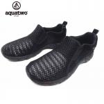 รองเท้าลุยน้ำ รองเท้าตาข่าย Aquatwo 957N สีดำ
