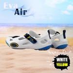 รองเท้าลุยน้ำ แห้งไว EVA Air สีขาว/เหลือง