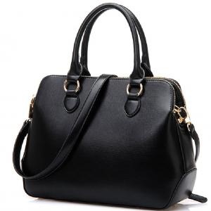 (พร้อมส่ง) กระเป๋าแฟชั่น  รหัส BB-1495 (B2-096) สไตล์เกาหลี นำเข้าจากต่างประเทศ สำหรับ สุภาพสตรีทันสมัย ราคาไม่แพง สีดำ