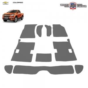 พรมกระดุม Super Save รถ Chevrolet Corolado Cab ปี 2011-2016 ชุด Full จำนวน 10 ชิ้น