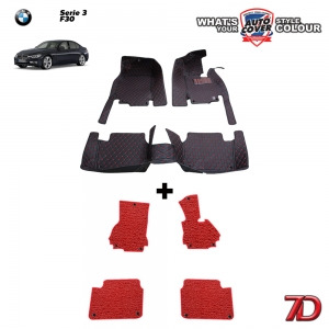 พรมรถยนต์ 7 D Anti Dust รถ BMW SERIES 3 (F30) 318i , 320i , 325i