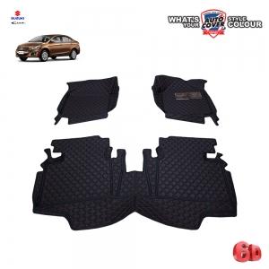พรมรถยนต์ 6 D รถ SUZUKI CIAZ ปี 2015-2020 จำนวน 3 ชิ้น