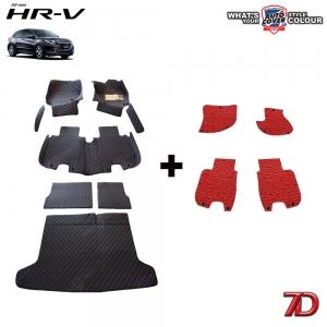 พรมรถยนต์ 7 D Anti Dust รถ HONDA HRV ปี 2015-2019