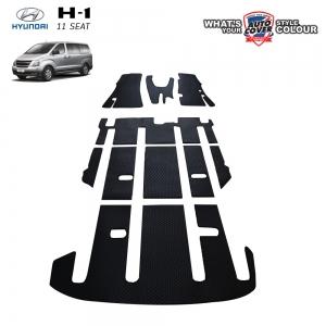 พรมกระดุม Original ชุด All Full ชุดเต็มคัน HYUNDAI H1 รุ่น 11 ที่นั่ง ปี 2008-2015