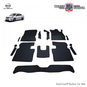 พรมกระดุม Super Save รถ Nissan Almera ชุด Full จำนวน 12 ชิ้น