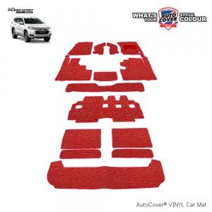 พรมดักฝุ่นไวนิล รถ Mitsubishi All New Pajero Sport ปี 2015-2019 ชุดปูเต็มคัน จำนวน 16 ชิ้น