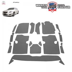 พรมกระดุม Super Save รถ Toyota Camry 2007-2011 ชุด Full จำนวน 16 ชิ้น