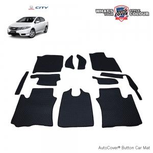 พรมกระดุม Super Save รถ Honda City ปี 2008-2013 ชุด Full จำนวน 11 ชิ้น