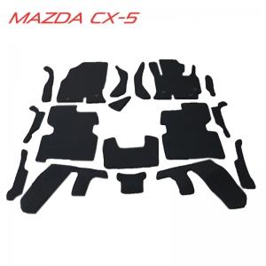 พรมกระดุม Super Save รถ MAZDA CX-5 ชุด Full (เฉพาะในเก๋ง) จำนวน 17 ชิ้น