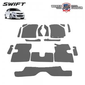 พรมกระดุม Super Save รถ SUZUKI SWIFT 2012-2017 ชุด Full จำนวน 16 ชิ้น